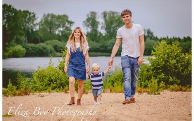Engagement Shoot in Norfolk at Lynford Lake.