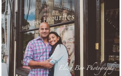 San Francisco meets Cambridge – An Atlantic Crossing Engagement Shoot.