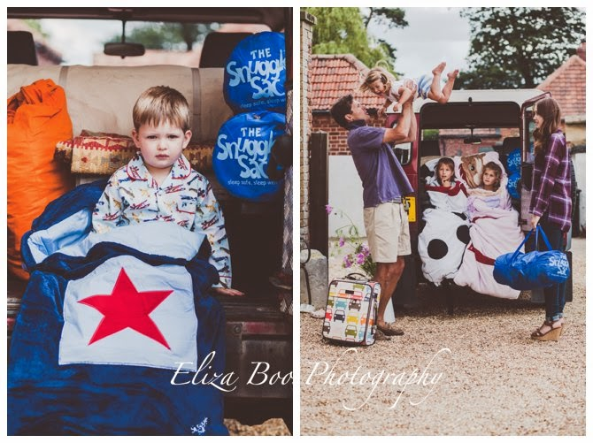 Snuggle Sac Shoot at Godwick Great Barn in Norfolk