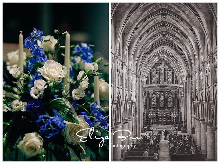 Wedding at Norwich Catholic Cathedral and Langley Abbey.
