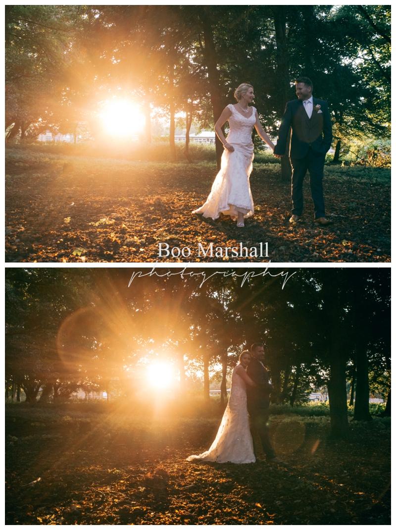 Wedding Sunset Golden Hour