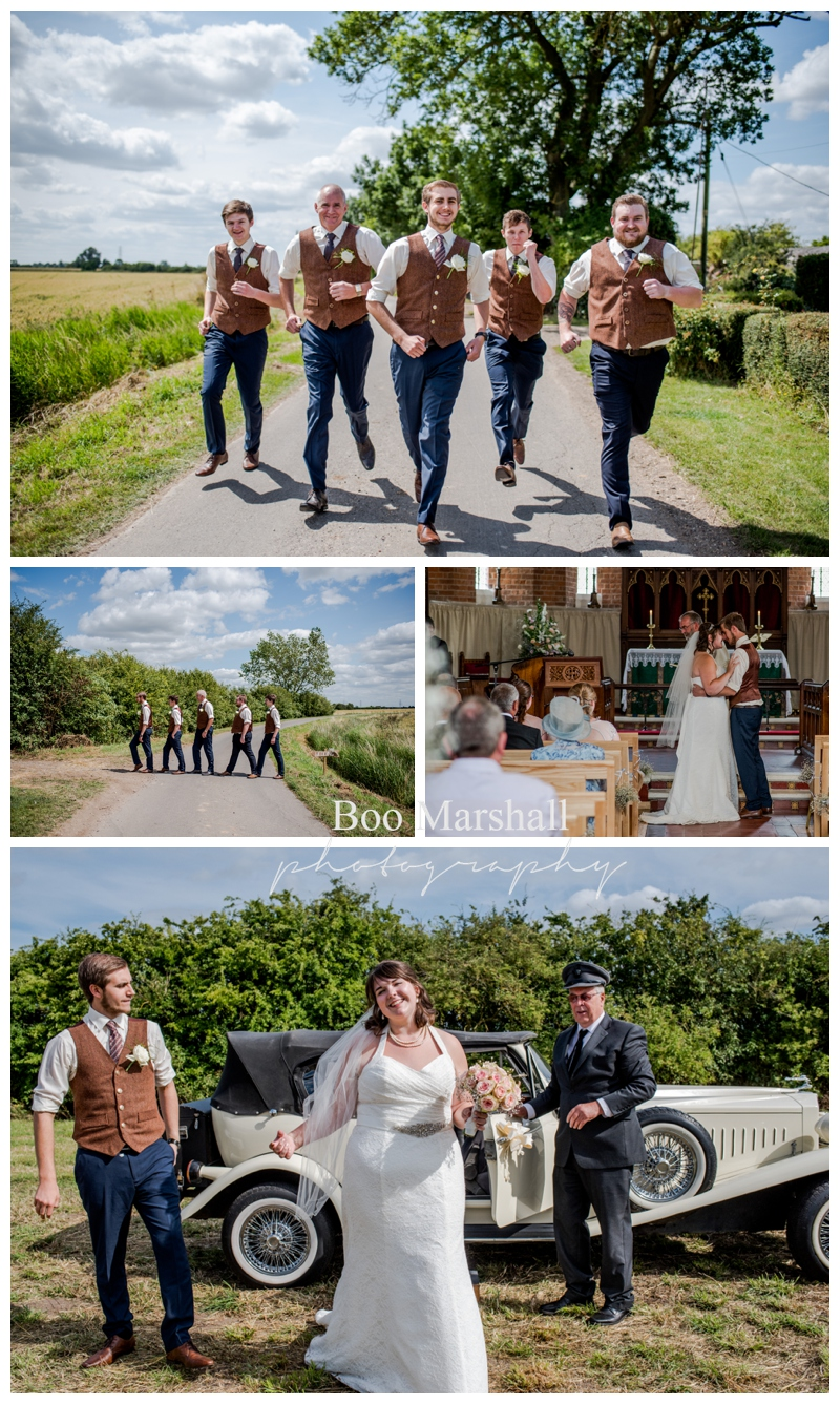 Rural English Farm Wedding