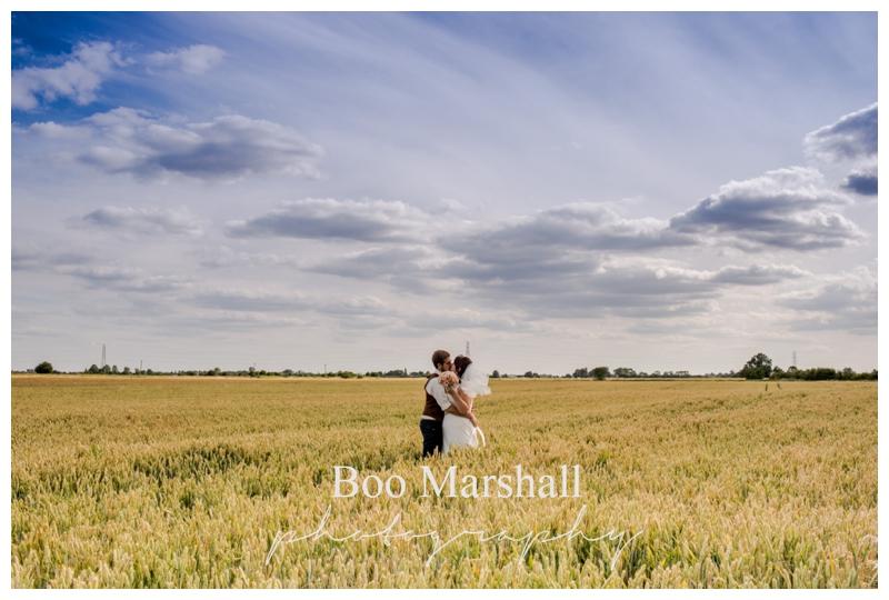 Rural English Farm Wedding