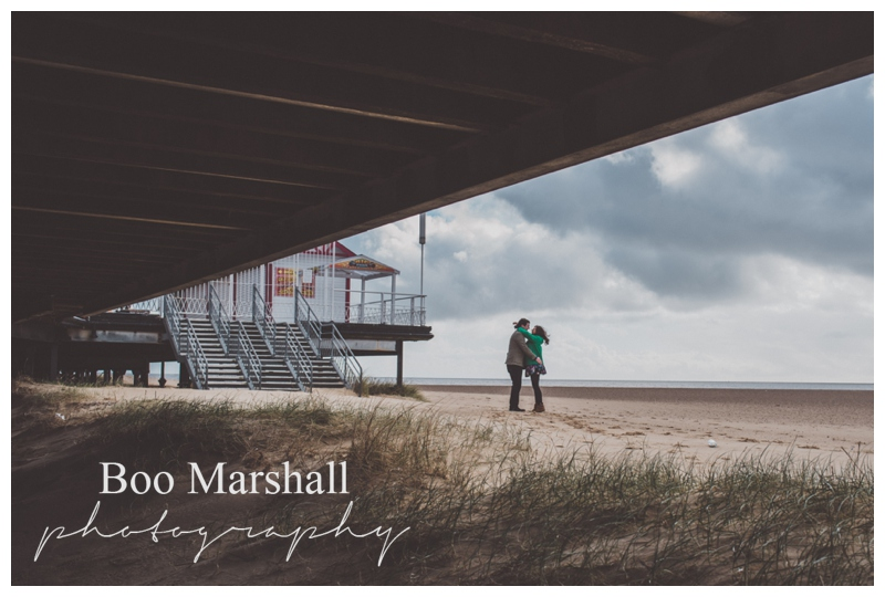 Wedding Photography Engagement Shoot in Great Yarmouth, Anna & Stuart