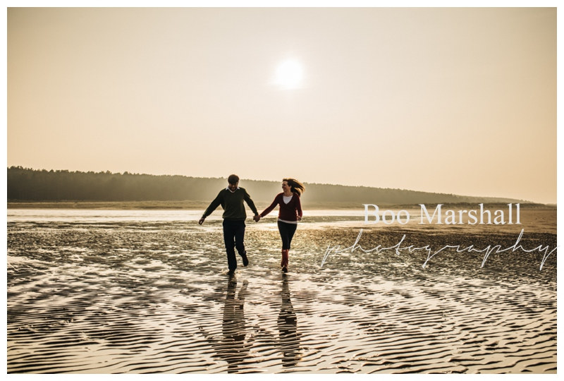 Pre Wed Shoot North Norfolk Wedding Photography